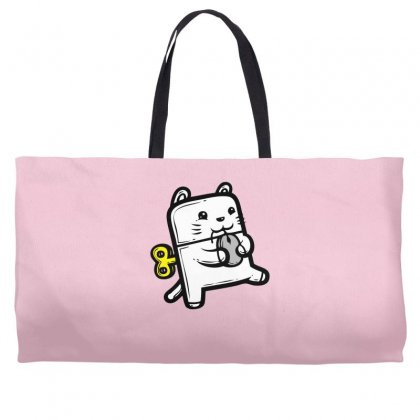Robo Cat Weekender Totes Designed By Specstore
