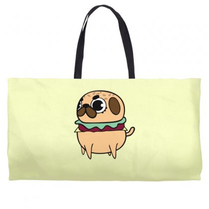 Pug Burger Weekender Totes Designed By Specstore