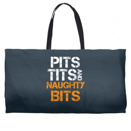Pits Tits And Naughty Bits Weekender Totes Designed By Specstore