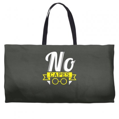 No Capes Weekender Totes Designed By Specstore