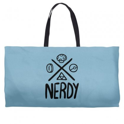 Nerdy Weekender Totes Designed By Specstore