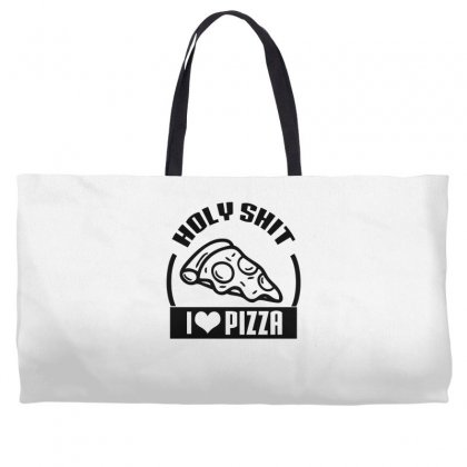 I Love Pizza Tee Weekender Totes Designed By Specstore