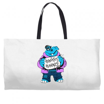 Hungry Hippo Weekender Totes Designed By Specstore