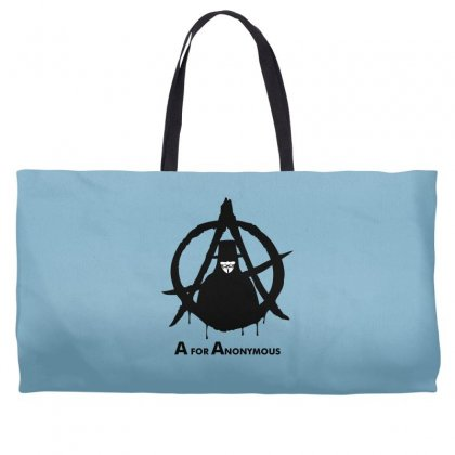 A For Anonymous Weekender Totes Designed By Specstore