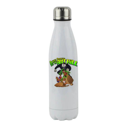 Always Stepping Stainless Steel Water Bottle Designed By Pinkanzee