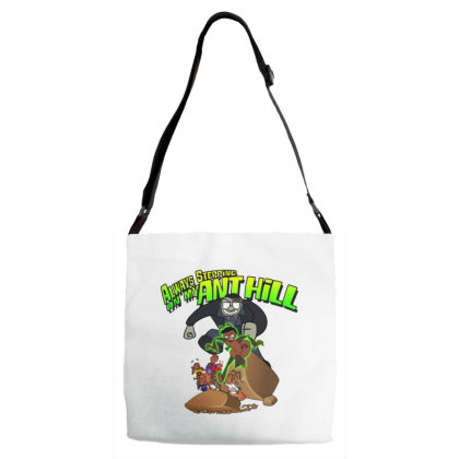 Always Stepping Adjustable Strap Totes Designed By Pinkanzee
