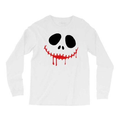 Bad Halloween Long Sleeve Shirts Designed By Pinkanzee