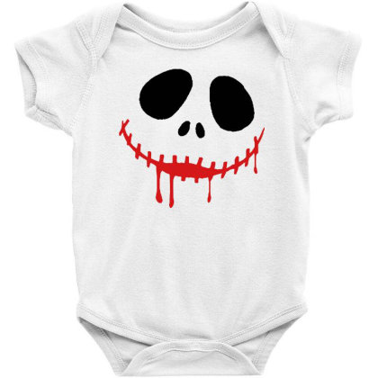 Bad Halloween Baby Bodysuit Designed By Pinkanzee