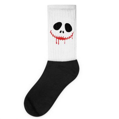Bad Halloween Socks Designed By Pinkanzee