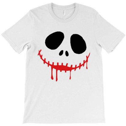 Bad Halloween T-shirt Designed By Pinkanzee