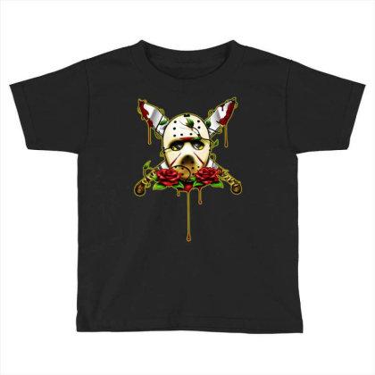 Halloween Horror Toddler T-shirt Designed By Pinkanzee