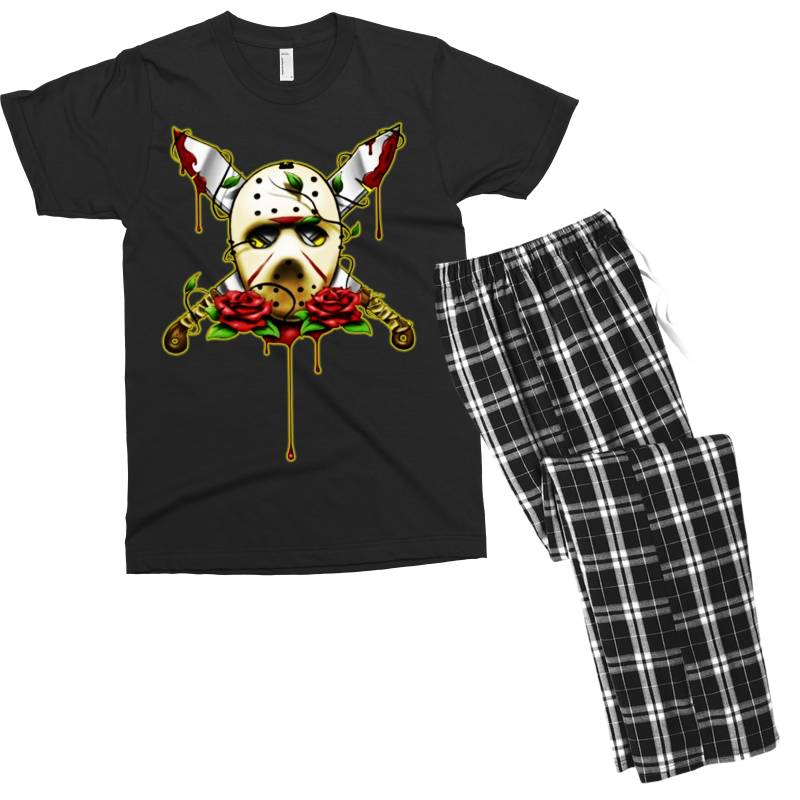 Halloween Horror Men's T-shirt Pajama Set | Artistshot