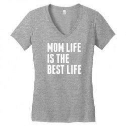 Mom Life Is The Best Life Women's V-Neck T-Shirt   Artistshot