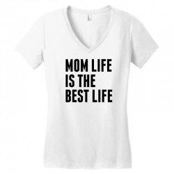 Mom Life Is The Best Life Women's V-Neck T-Shirt | Artistshot