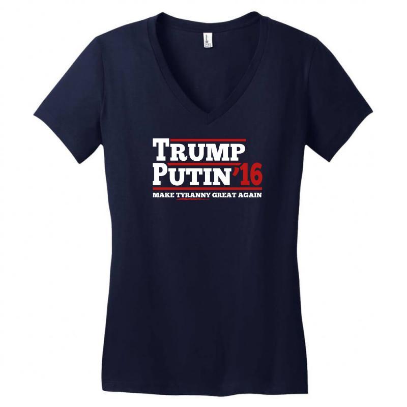 Trump Putin 2016 Women's V-neck T-shirt   Artistshot