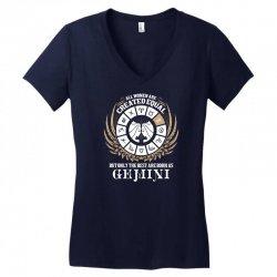 Gemini Women Women's V-Neck T-Shirt | Artistshot