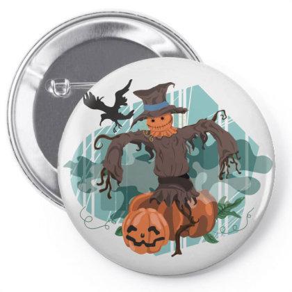 Happy Halloween Pin-back Button Designed By Estore