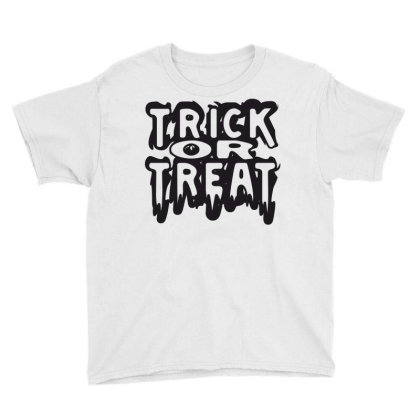 Trick Or Treat Youth Tee Designed By Estore