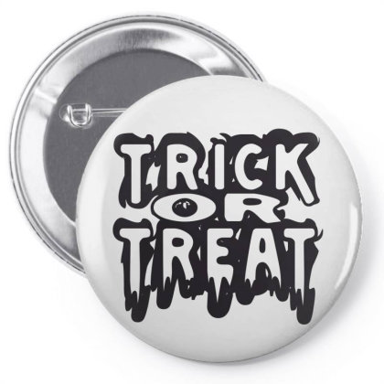 Trick Or Treat Pin-back Button Designed By Estore