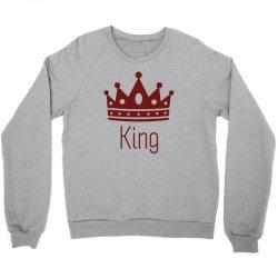 King Crewneck Sweatshirt | Artistshot