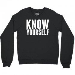 Know Yourself Crewneck Sweatshirt | Artistshot