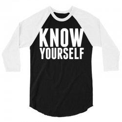 Know Yourself 3/4 Sleeve Shirt | Artistshot