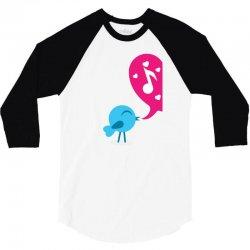 Love Bird 3/4 Sleeve Shirt   Artistshot