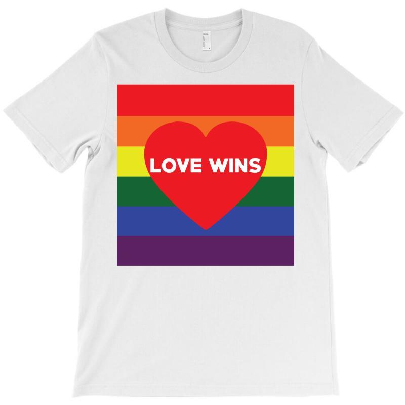 Love Wins T-shirt | Artistshot