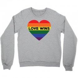 Love Wins Crewneck Sweatshirt | Artistshot