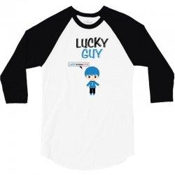 Lucky Guy (Lucky Girl - Lucky Guy Couples Design) 3/4 Sleeve Shirt | Artistshot