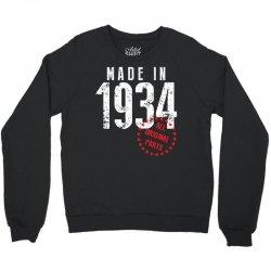 Made In 1934 All Original Part Crewneck Sweatshirt | Artistshot