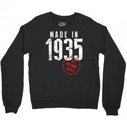 Made In 1935 All Original Part Crewneck Sweatshirt   Artistshot