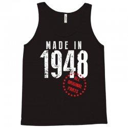 Made In 1948 All Original Parts Tank Top | Artistshot