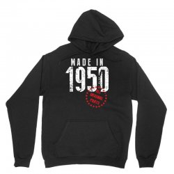 Made In 1950 All Original Parts Unisex Hoodie | Artistshot