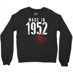 Made In 1952 All Original Parts Crewneck Sweatshirt | Artistshot