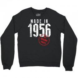 Made In 1956 All Original Parts Crewneck Sweatshirt | Artistshot