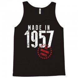 Made In 1957 All Original Parts Tank Top | Artistshot