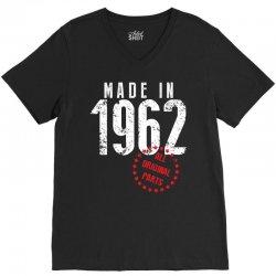 Made In 1962 All Original Parts V-Neck Tee   Artistshot