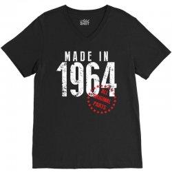 Made In 1964 All Original Parts V-Neck Tee | Artistshot
