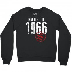 Made In 1966 All Original Parts Crewneck Sweatshirt   Artistshot