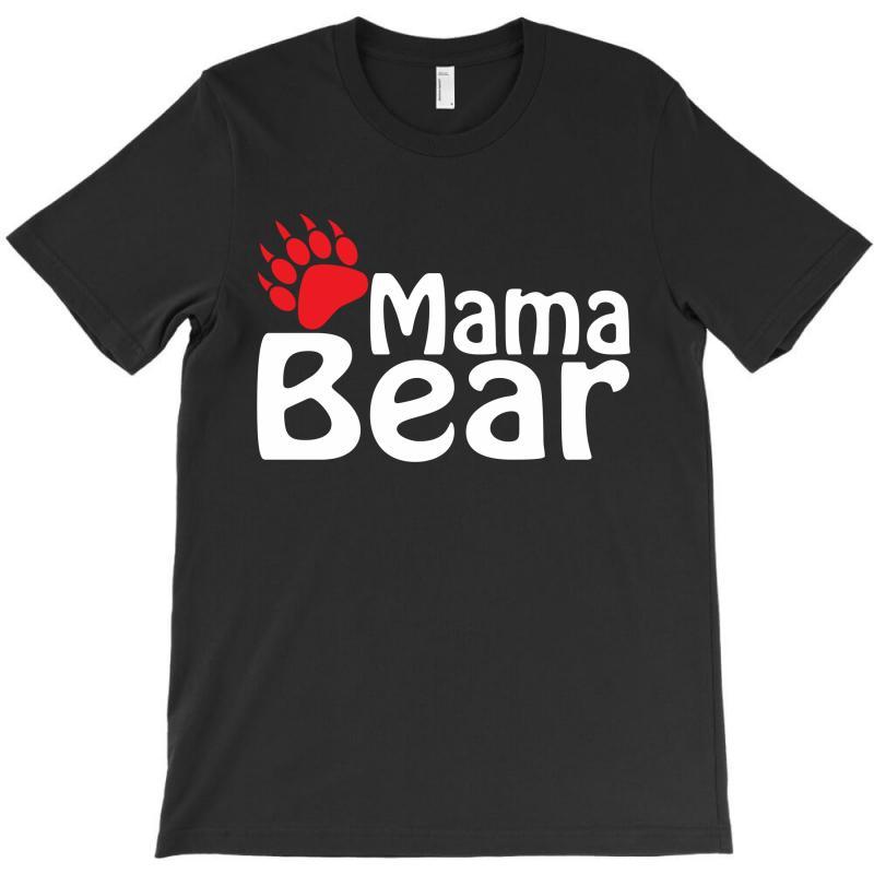 Mama Bear T-shirt   Artistshot