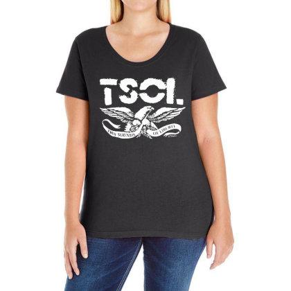 Tsol Eagle Ladies Curvy T-shirt Designed By Pinkanzee