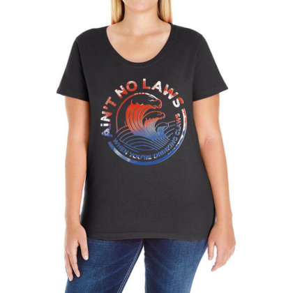 Trevor Wallace White Claw Ladies Curvy T-shirt Designed By Pinkanzee