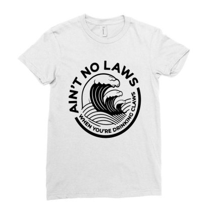 Trevor Wallace White Claw For Light Ladies Fitted T-shirt Designed By Pinkanzee