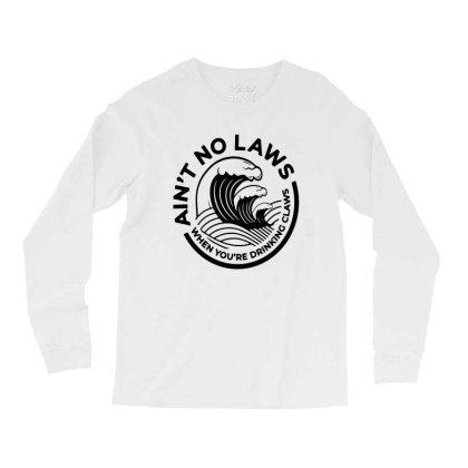 Trevor Wallace White Claw For Light Long Sleeve Shirts Designed By Pinkanzee