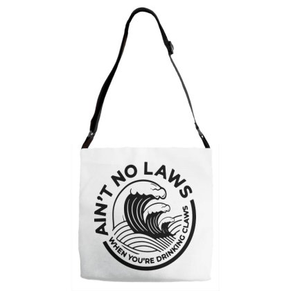 Trevor Wallace White Claw For Light Adjustable Strap Totes Designed By Pinkanzee