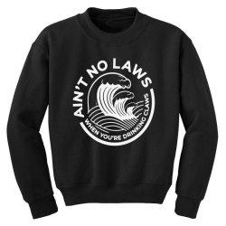 trevor wallace white claw for dark Youth Sweatshirt | Artistshot