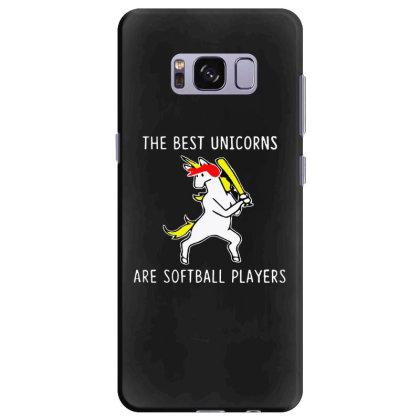 The Best Unicorns Are Softball Player Samsung Galaxy S8 Plus Case Designed By Pinkanzee
