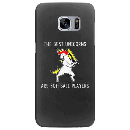 The Best Unicorns Are Softball Player Samsung Galaxy S7 Edge Case Designed By Pinkanzee