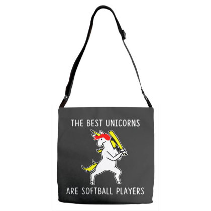 The Best Unicorns Are Softball Player Adjustable Strap Totes Designed By Pinkanzee
